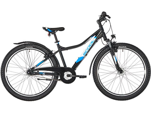 s'cool troX urban 26 7-S Kinder black/blue matt